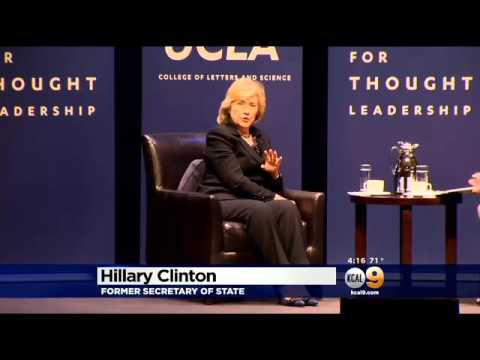 Hillary Clinton Comments On Crisis In Ukraine, Russia