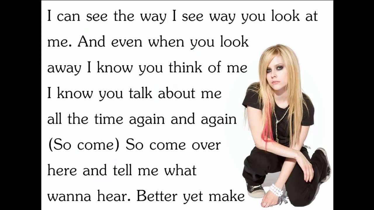 Avril Lavigne Song Lyrics | MetroLyrics