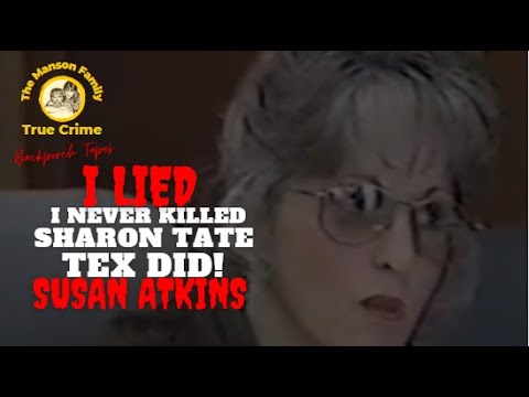 Part 3 Susan Atkins 1993 Parole Hearing California Prison Charles MANSON Family