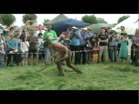 West Country Scythe Competition 2010: Scythe v Strimmer