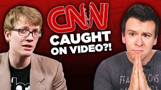 """CNN """"Exposed"""" In Controversial Secret Video and Anita Sarkeesian's """"Punishment""""..."""
