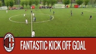 Goal from Kick Off | Gabriele Alesi - AC Milan Under 15