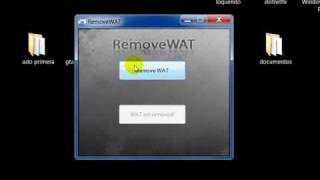 Como Validar Windows 7 Con (remove Wat) (mediafire)