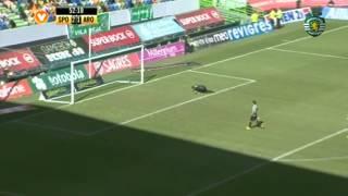 01J :: Sporting - 5 Arouca - 1 de 2013/2014
