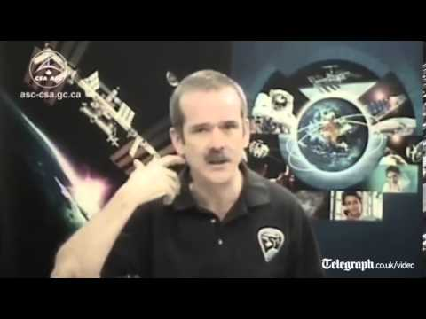 Astronaut Chris Hadfield: 'we hit Earth like a car crash'