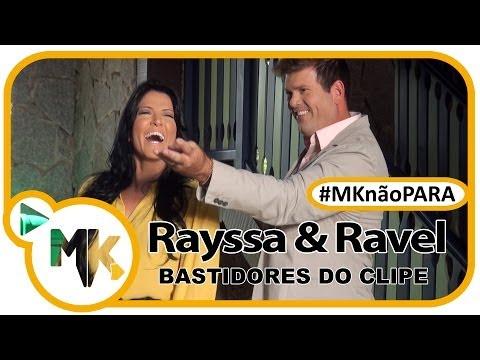 Rayssa e Ravel - CD O Que Deus Fez Por Mim - Bastidores do clipe (#MKnãoPARA)