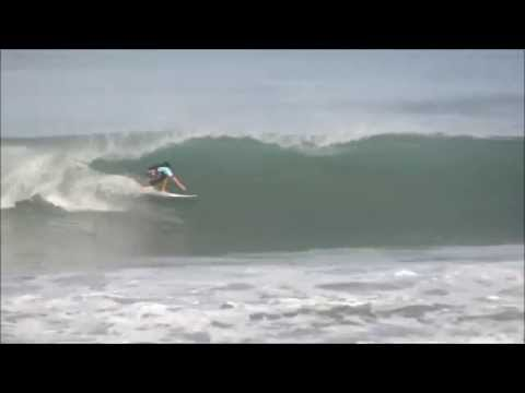 July 15 2014 Surfing Playa Hermosa Costa Rica