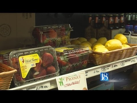 Drought in California may impact food prices