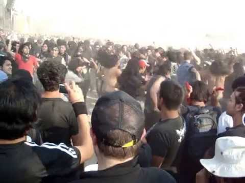 EXODUS (MOSH PIT) HEAVEN AND HELL METAL FEST MEXICO 2013 19/05/13