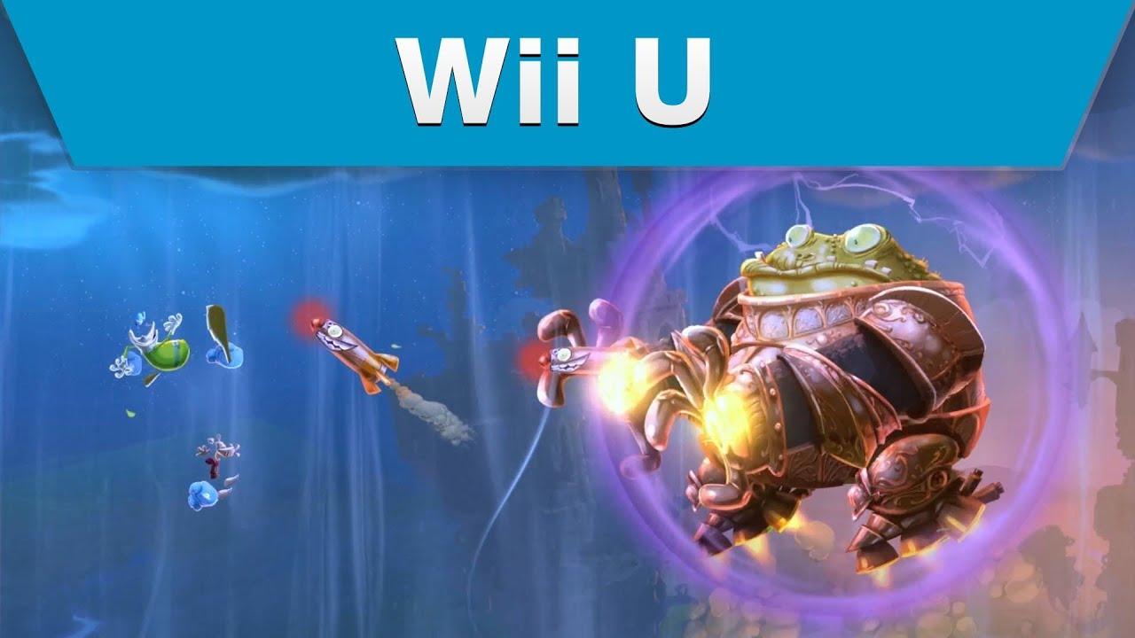 Wii U Game Trailer : Wii u rayman legends e game play trailer youtube