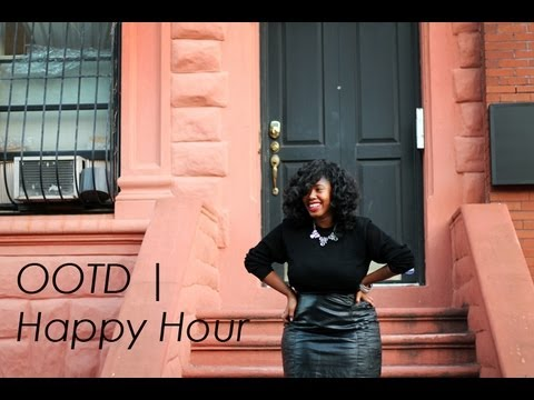 OOTD | Happy Hour #FFfaceoff in Ashley Stewart