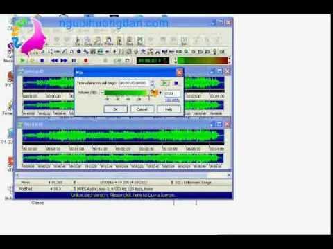 Hướng dẫn tách lời bài hát bằng gold wave nguoihuongdan.com