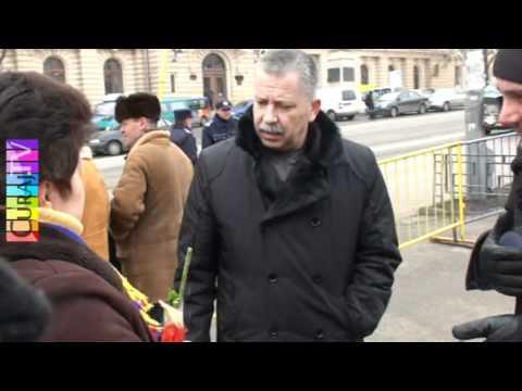 Jandarmii au oprit manifestul unirii la Iași