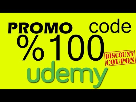 Udemy 100 coupon code