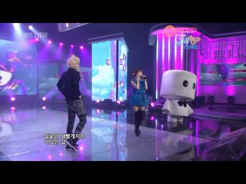 [Vietsub] IU ft YoSeob (BEAST) - Marshmallow@KBS Music Bank