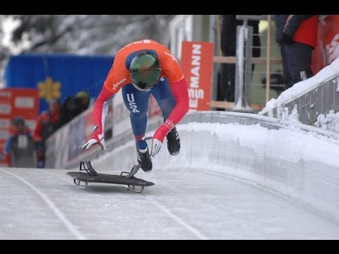 Women's and Men's Skeleton Selection Race, Park City, October 28
