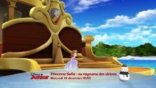 Princesse Sofia : au royaume des sirènes - Mercredi 18 décembre à 9h55 sur Disney Junior !