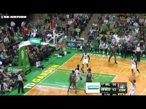 Caron Butler, Milwaukee Bucks vs. Boston Celtics game-tying three