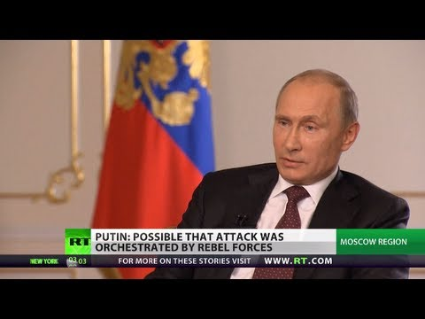 Putin: Only UNSC can sanction military action against Syria govt