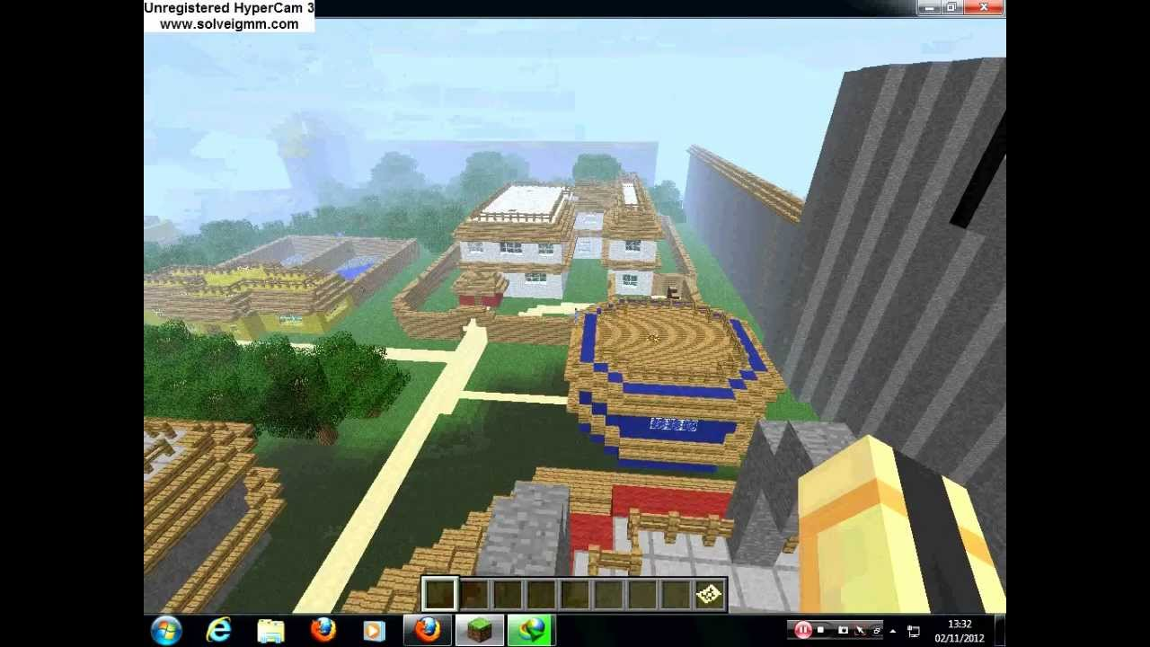 naruto minecraft map