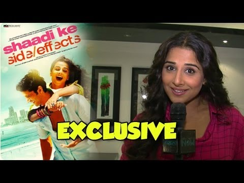 Vidya Balan's Exclusive Interview - Shaadi Ke Side Effects