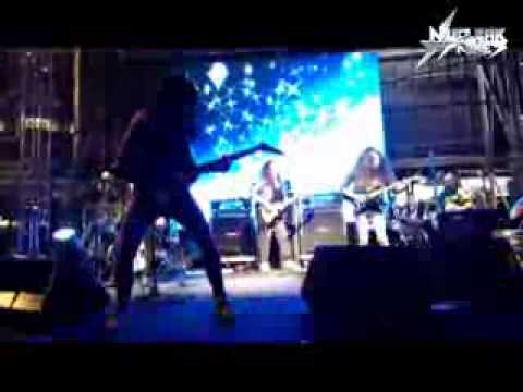 Nuclear Strikes - Godaan (Live at KL bike week)