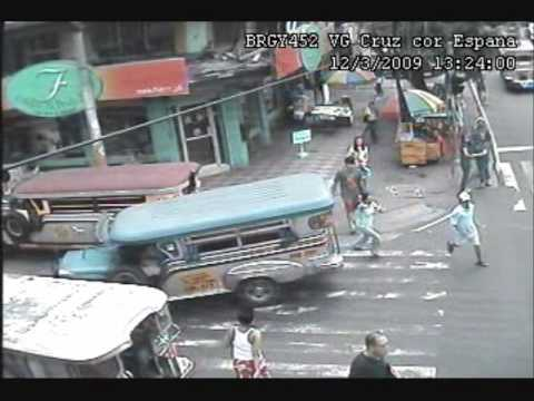 Snatcher caught in CCTV (Espana cor VG Cruz)
