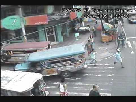 Snatcher caught in CCTV (Espana cor VG Cruz)