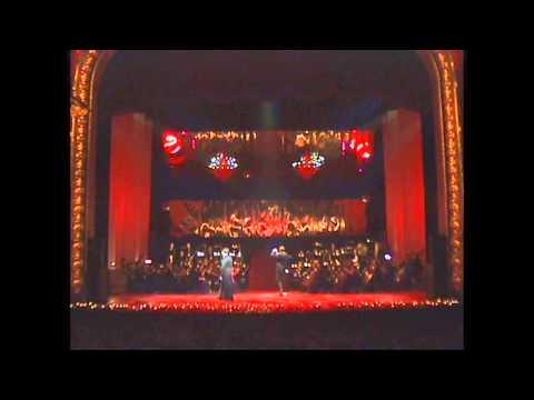 Inese Galante, Jan 2014, Riga. Latvian National Opera