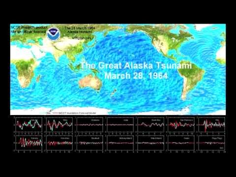 The Great Alaska Tsunami, March 28, 1964