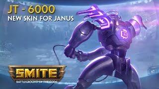 SMITE - Új Skin: JT-6000 Janus
