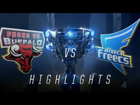PVB vs. AFs - Worlds Group Stage Day 6 Match Highlights (2018)