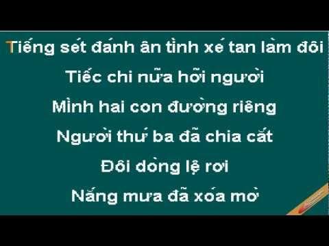 Cuoc Tinh Phoi Phai Karaoke - Phan Đinh Tùng - CaoCuongPro