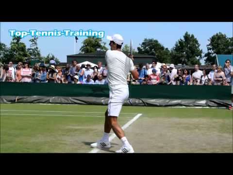 Novak Djokovic Training @ Wimbledon 2014-HD