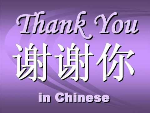 Chinese for Thanks  Thanks in ChineseHow Do You Say Thank You In Chinese