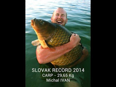 SLOVAK CARP RECORD 2014 - MICHAL IVAN - 29,65 Kg -