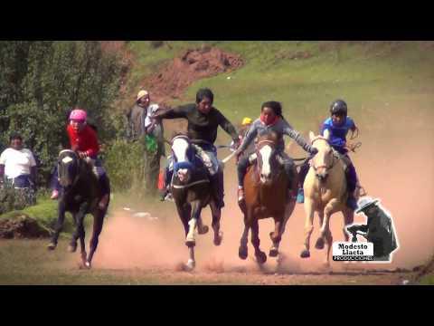 CARRERA DE CABALLOS - PAMPAMARCA - CANAS - CUSCO