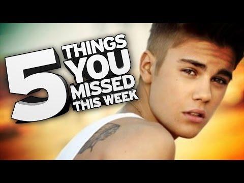 Justin Bieber Racist AGAIN! 5 Things You Missed This Week!