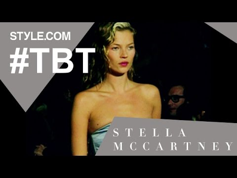 Paul McCartney & Kate Moss at Stella McCartney's First Chloé Collection-#TBT w/Tim Blanks