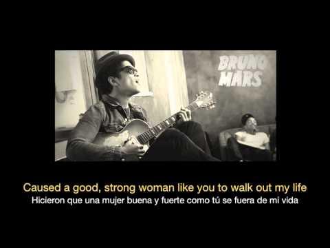 Bruno Mars - When I Was Your Man HD (Sub español - ingles)