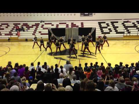 2013 JDHS Dance Team Showtime Tournament routine