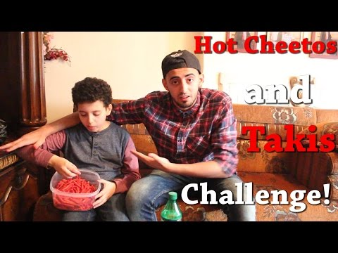 HOT CHEETOS AND TAKIS CHALLENGE