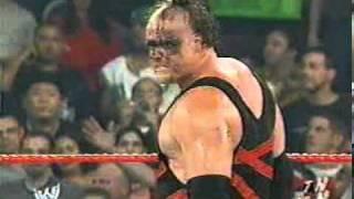 Kane Takes Off His Mask