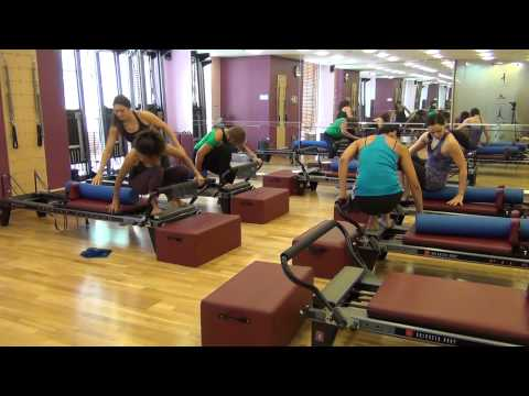 Pilates Reformer L2 part 1 with A Life of Energy and Miriam