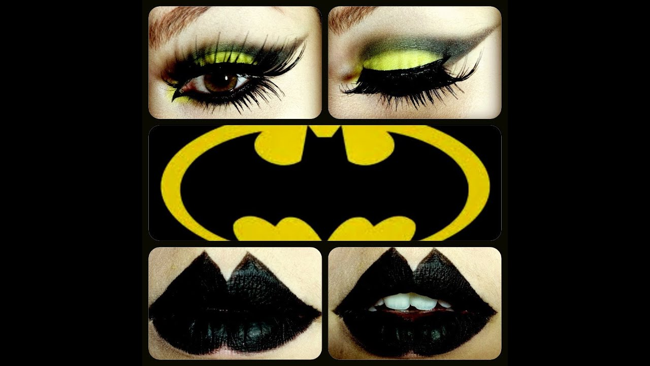 Halloween Bat Woman Inspired Makeup Tutorial - YouTube