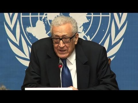 Syrie: Brahimi annonce la fin des négociations de Genève