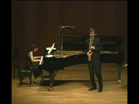 Miha Rogina Plays Scaramouche 3rd mov by Milhaud