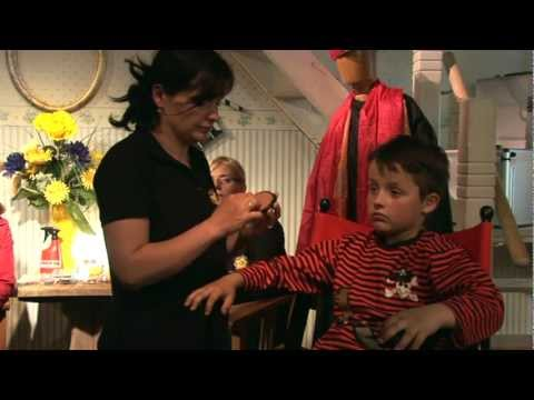 Bastelzeit TV 7 - Part 2 - Kinderschminken Pirat