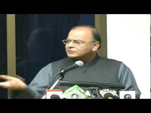 Valedictory Speech by Shri Arun Jaitley on
