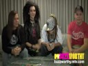 MTVBuzzworthy:Tokio Hotel part 3Cockroaches and Jessica Alba